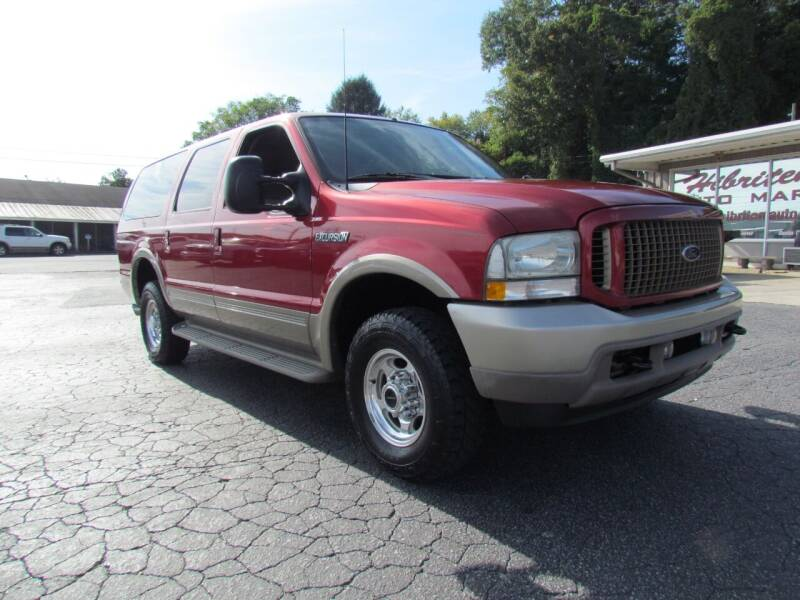 2003 Ford Excursion for sale at Hibriten Auto Mart in Lenoir NC