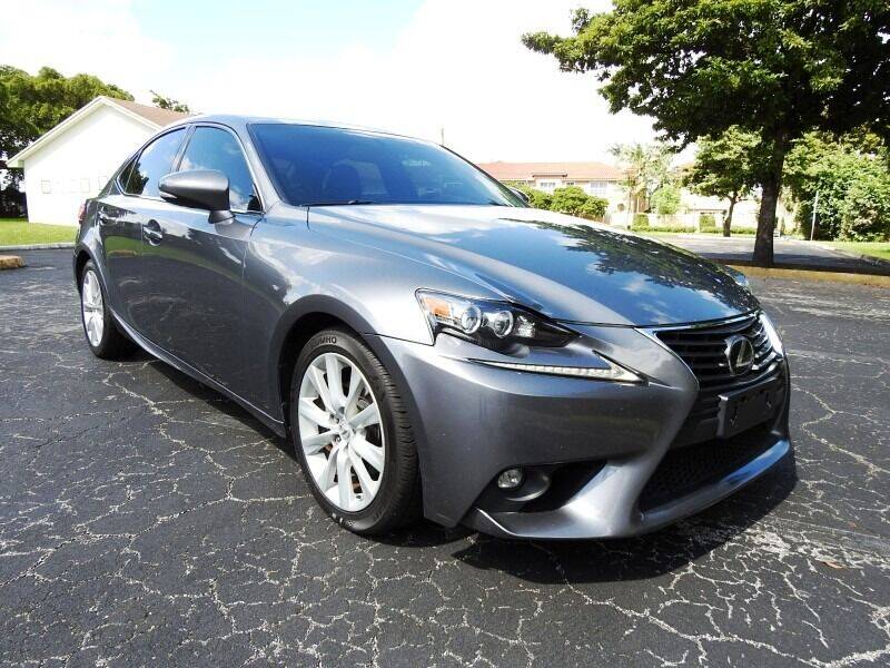 2015 Lexus IS 250 for sale at SUPER DEAL MOTORS 441 in Hollywood FL