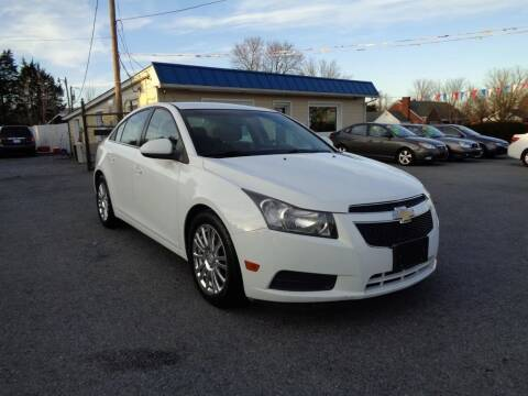2012 Chevrolet Cruze for sale at Supermax Autos in Strasburg VA