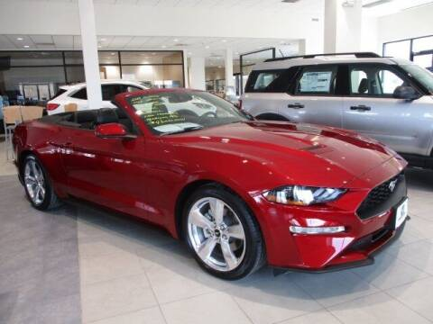 2019 Ford Mustang for sale at MC FARLAND FORD in Exeter NH