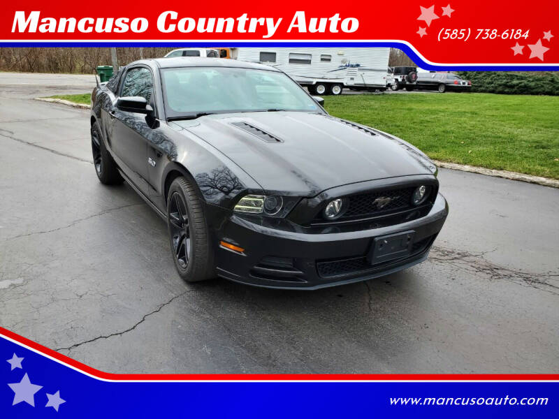 2013 Ford Mustang for sale at Mancuso Country Auto in Batavia NY