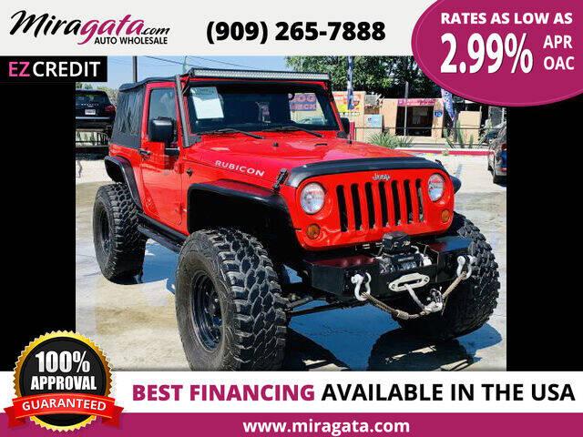2011 Jeep Wrangler for sale at Miragata Auto in Bloomington CA