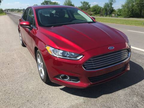 2016 Ford Fusion for sale at Tennessee Auto Brokers LLC in Murfreesboro TN