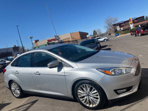 2015 Ford Focus for sale at Sanaa Auto Sales LLC in Denver CO