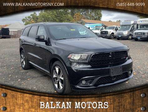 2014 Dodge Durango for sale at BALKAN MOTORS in East Rochester NY