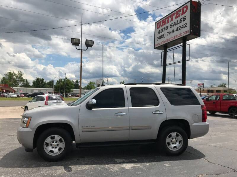 2007 Chevrolet Tahoe for sale at United Auto Sales in Oklahoma City OK
