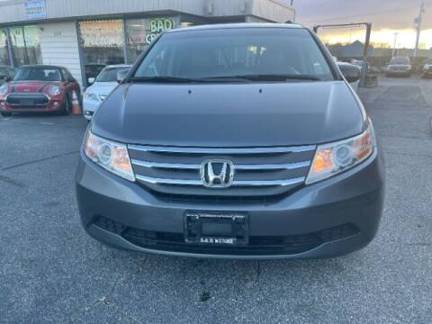 2012 Honda Odyssey for sale at A&R Motors in Baltimore MD