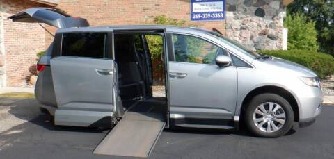 2017 Honda Odyssey for sale at Mobility Motors LLC - A Wheelchair Van in Battle Creek MI