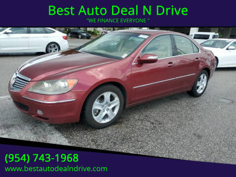 2006 Acura RL for sale at Best Auto Deal N Drive in Hollywood FL