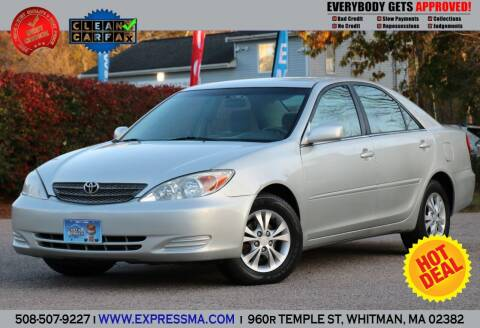 2004 Toyota Camry for sale at Auto Sales Express in Whitman MA
