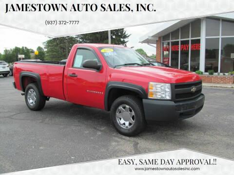 2008 Chevrolet Silverado 1500 for sale at Jamestown Auto Sales, Inc. in Xenia OH