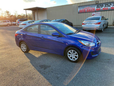 2012 Hyundai Accent for sale at Stikeleather Auto Sales in Taylorsville NC
