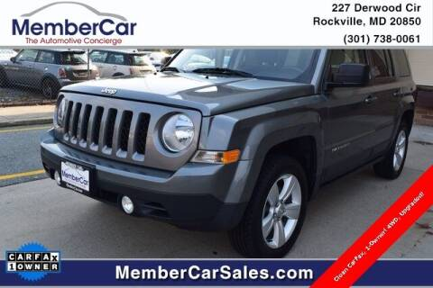 2013 Jeep Patriot for sale at MemberCar in Rockville MD