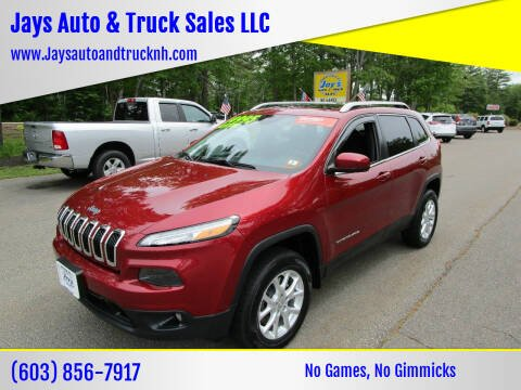 2014 Jeep Cherokee for sale at Jays Auto & Truck Sales LLC in Loudon NH