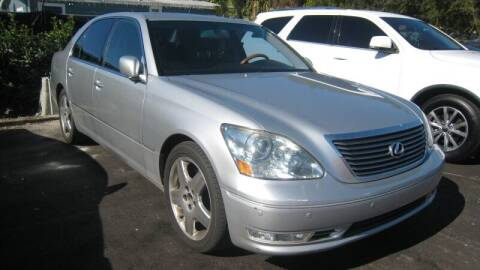 2006 Lexus LS 430 for sale at Empire Automotive Group Inc. in Orlando FL