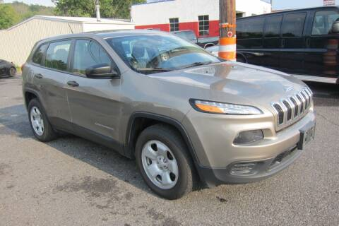 2017 Jeep Cherokee for sale at K & R Auto Sales,Inc in Quakertown PA