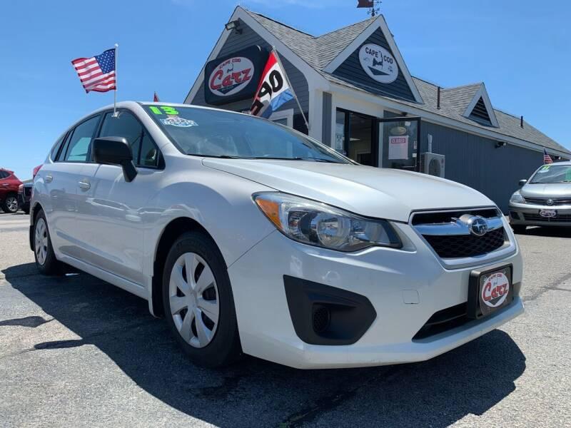 2013 Subaru Impreza for sale at Cape Cod Carz in Hyannis MA