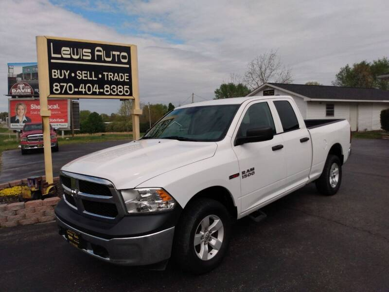 2016 RAM Ram Pickup 1500 for sale at LEWIS AUTO in Mountain Home AR