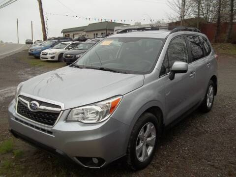 2015 Subaru Forester for sale at Warner's Auto Body of Granville Inc in Granville NY
