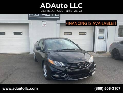 2014 Honda Civic for sale at ADAuto LLC in Bristol CT