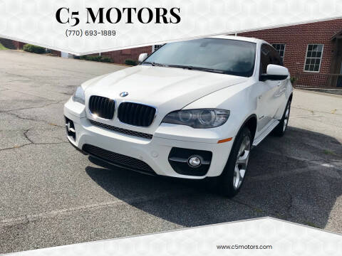 2011 BMW X6 for sale at C5 Motors in Marietta GA