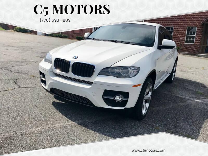 2011 BMW X6 for sale at C5 Motors in Marietta GA