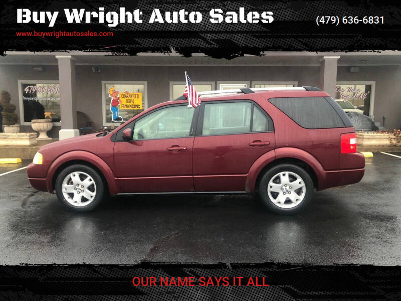 2006 Ford Freestyle for sale at Buy Wright Auto Sales in Rogers AR