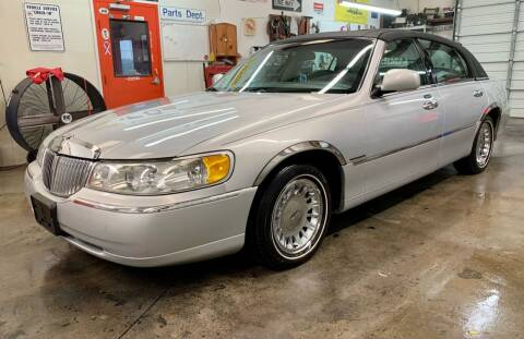 2002 Lincoln Town Car for sale at Vanns Auto Sales in Goldsboro NC