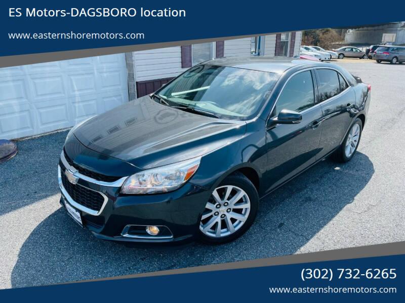 2015 Chevrolet Malibu for sale at ES Motors-DAGSBORO location in Dagsboro DE
