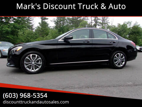 2017 Mercedes-Benz C-Class for sale at Mark's Discount Truck & Auto in Londonderry NH