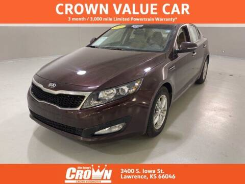 2013 Kia Optima for sale at Crown Automotive of Lawrence Kansas in Lawrence KS