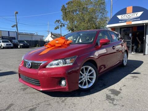 2011 Lexus CT 200h for sale at OTOCITY in Totowa NJ
