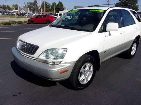 2002 Lexus RX 300 for sale at Ideal Auto Sales, Inc. in Waukesha WI