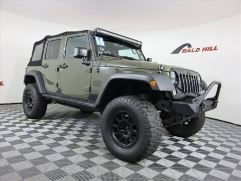 2016 Jeep Wrangler Unlimited for sale at Bald Hill Kia in Warwick RI