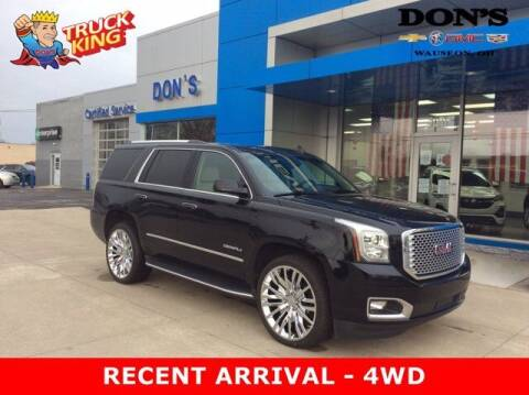 2016 GMC Yukon for sale at DON'S CHEVY, BUICK-GMC & CADILLAC in Wauseon OH