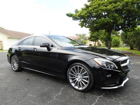 2016 Mercedes-Benz CLS for sale at SUPER DEAL MOTORS 441 in Hollywood FL