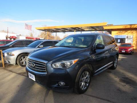 2015 Infiniti QX60 for sale at Nile Auto Sales in Denver CO