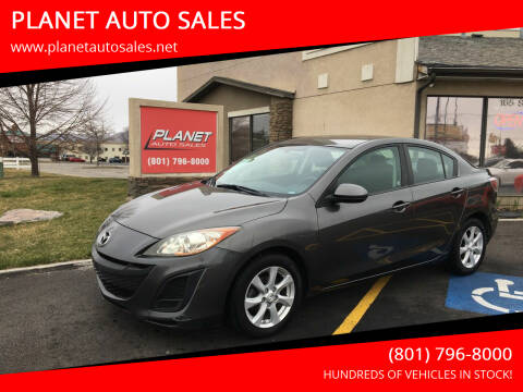 2011 Mazda MAZDA3 for sale at PLANET AUTO SALES in Lindon UT