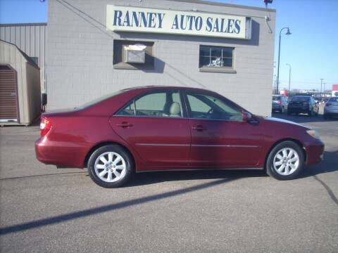 2004 Toyota Camry for sale at Ranney's Auto Sales in Eau Claire WI