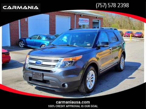 2015 Ford Explorer for sale at CARMANIA LLC in Chesapeake VA