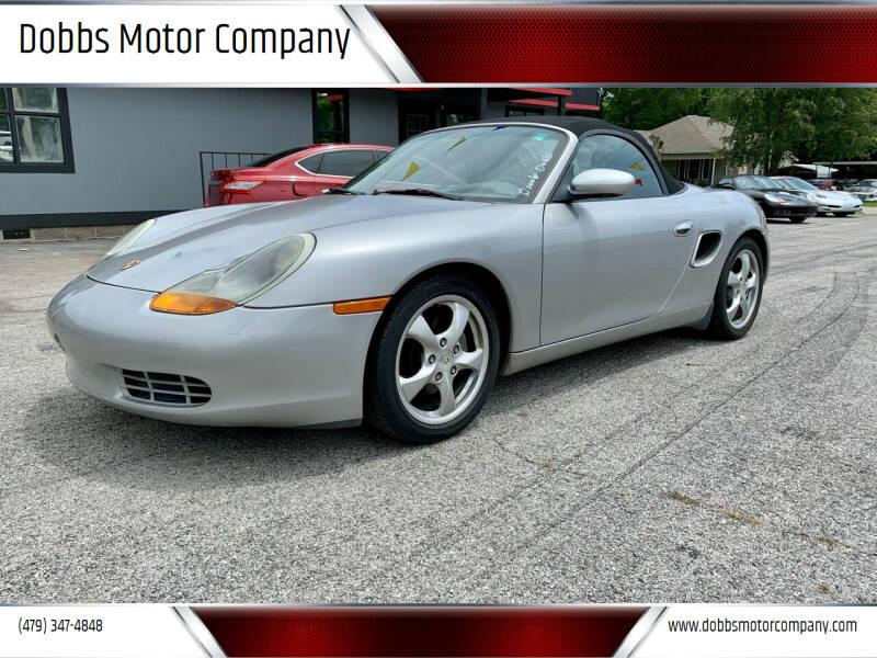 2001 Porsche Boxster for sale at Dobbs Motor Company in Springdale AR
