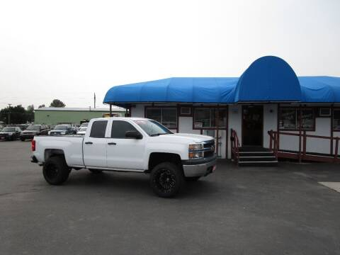 2014 Chevrolet Silverado 1500 for sale at Jim's Cars by Priced-Rite Auto Sales in Missoula MT