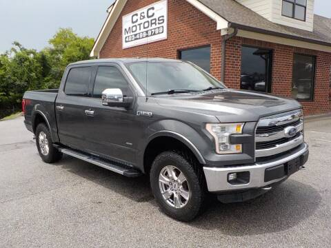 2015 Ford F-150 for sale at C & C MOTORS in Chattanooga TN
