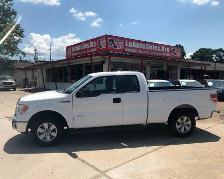 2014 Ford F-150 for sale at LA Auto Sales in Monroe LA