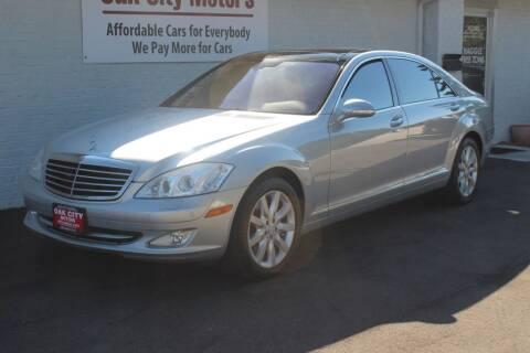2008 Mercedes-Benz S-Class for sale at Oak City Motors in Garner NC