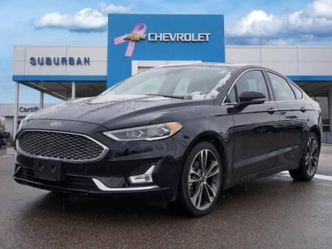 2020 Ford Fusion for sale at Suburban Chevrolet of Ann Arbor in Ann Arbor MI
