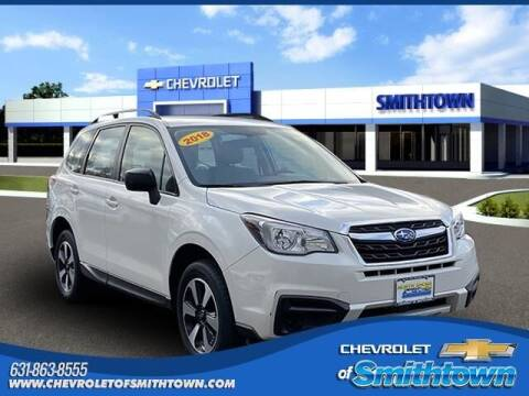 2018 Subaru Forester for sale at CHEVROLET OF SMITHTOWN in Saint James NY