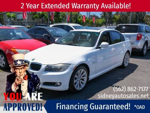 2011 BMW 3 Series for sale at Sidney Auto Sales in Downey CA