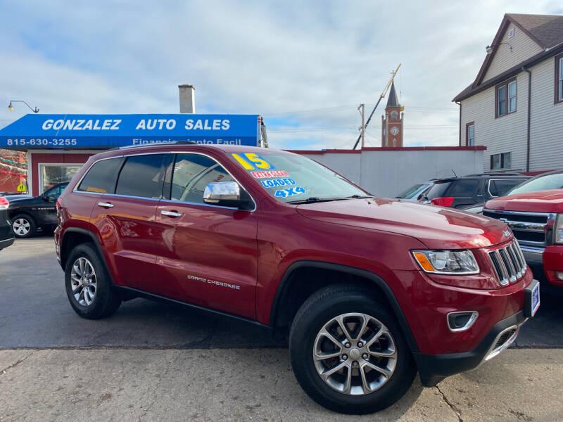 2015 Jeep Grand Cherokee for sale at Gonzalez Auto Sales in Joliet IL