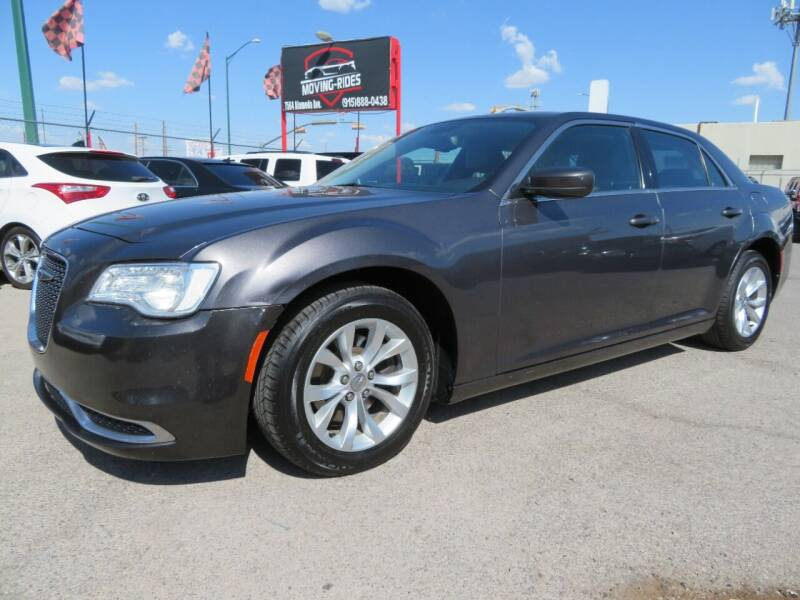2015 Chrysler 300 for sale at Moving Rides in El Paso TX